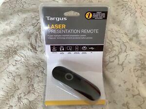 TARGUS AMP13EU LASER PRESENTATION REMOTE - USB - PC MAC NETBOOK - BRAND NEW