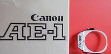 Canon AE1 originaler Frontdeckel Fassung Schild mit Logo Ersatzteil