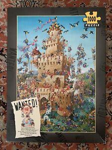 Heye, Where Is Safecracker Suzie?, 1000 Piece Jigsaw Puzzle