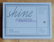 KIM SUNG KYU INFINITE Solo Concert SHINE ENCORE DVD + PHOTOCARD SET SEALED