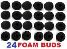 SoftRound 24 Pack Foam Earbud Earpad Ear Bud Pad Replacement Sponge Covers for .