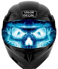 V32 Skull VISOR TINT DECAL Helmet UNIVERSAL Fits All Sport Bike Helmet