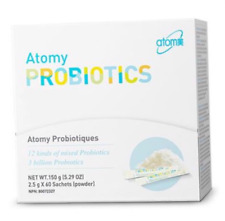 Atom Probiotics Powder Cfus Lactobacilli Flavor Health 20 Billion Orange