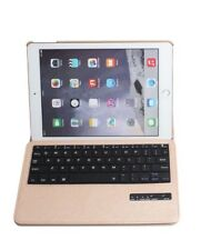 iPad Air 2 Pro 360 Rotating Leather Case Folio Cover with Bluetooth Keyboard