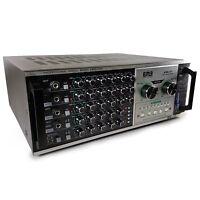 EMB Pro EBK57 1200w DJ Karaoke Mixer Stereo Amplifier w/ USB, SD, REMOTE, ECHO