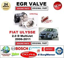 FOR FIAT ULYSSE 2.0 D MultiJet 2006-2011 Electric 5-PIN EGR VALVE with GASKETS