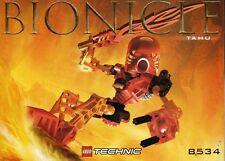 LEGO TAHU 8534 Set Bionicle Toa figure