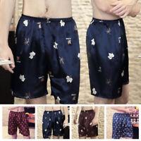 Mens Swim Summer Beach Pants Surf Board Casual Shorts Pants Sleepwear Nightgown
