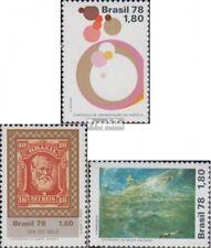 Brasilien 1659,1660,1661 (kompl.Ausg.) postfrisch 1978 Pocken, Philatelie, Seeli