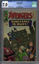 Avengers #20 CGC 7.0 (OW-W)