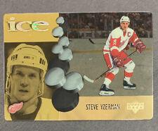 1998-99 McDonalds Upper Deck Ice - #6 Steve Yzerman - Detroit Red Wings