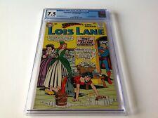 SUPERMANS GIRLFRIEND LOIS LANE 48 CGC 7.5 CINDERELLA MR MXYZPTLK DC COMICS