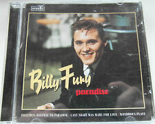 Billy Fury - Halfway to Paradise ( CD Album 1993 )  Used very good