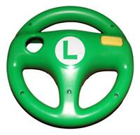 Luigi Steering Wheel Hori Nintendo Wii U Mario Kart 8