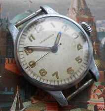RARE! Excellent vintage WW2 swiss military style watch LONGINES cal. 12L, 1940s