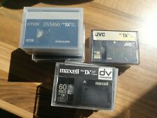 11 X 60min Mini DV Tapes