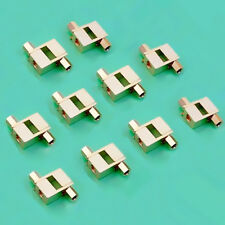 20 Pcs Gold Plated Spade Banana plug For Mcintosh Fisher Eico tube Adapter
