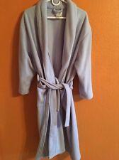 Ulta  plush bath wrap Lite Blue robe size Sm/med
