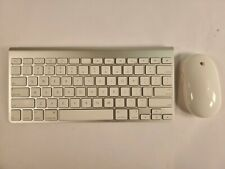 Apple A1255 Wireless Bluetooth Keyboard & A1197 Wireless Bluetooth Mighty Mouse