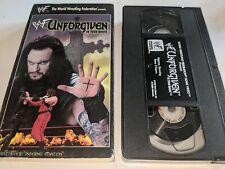 Unforgiven 1998 Wwf In Your House Wrestling Ppv Vhs Video Steve Austin/Dude Love