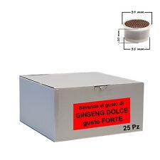 25 capsule bevanda Ginseng Dolce Cialdeitalia - Comp. Lavazza Espresso Point