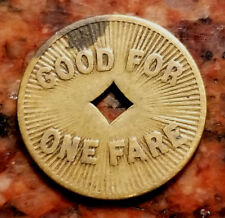 New listing W. & S. M. Co. - Good For One Fare - #2764