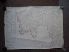 "Ordnance Survey 6"" map Shetland Mainland HU31SE 1973 Sumburgh AP Quendale"