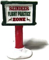 Lemax Christmas Village Reindeer Flight Practice Zone