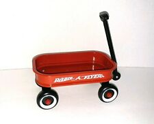RADIO FLYER MINI WAGON - DOMINO 6 X 4 for dolls bears toys and decor - used CUTE