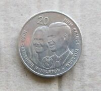 AUSTRALIAN 2011 ROYAL WEDDING... 20c COIN