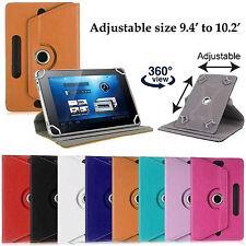 Premium 360 rotation Alcatel Pixi 3 Pop 10 10.1 leather cover case stand wallet