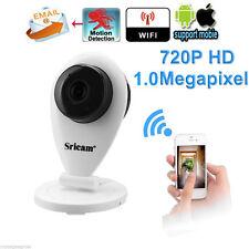 720P WLAN Netzwerk Webcam HD Wireless IP Kamera Nachtsicht Überwachungskamera v&