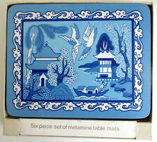 Blue Willow Table Mats