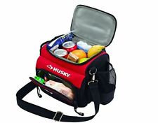 Husky 9 inch Insulated Hot Cold Lunch Box Travel Work Tools Cooler Food Tote Bag