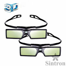 [Sintron] 2X 3D Active Glasses for DLP-Link Optoma 3D Glasses X501 X515 X307USTi