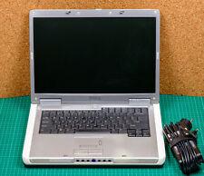Notebook Dell Inspiron 6000 Pentium M 1,5GHz 1,25GB RAM WSXGA+1680x1050 Firewire