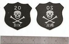 #219 US ARMY 20TH DIVISION PATCH ON FELT