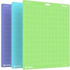 3Mats Color Combo Cutting Mat for Cricut Maker/Explore Air 2/Air/One(12x12 Inch)