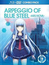 Arpeggio of Blue Steel: Complete Anime TV Series DVD / BluRay Combo Set NEW!