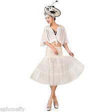 ES Bañador entallado vintage Rockabilly con falda vintage Fancy Net