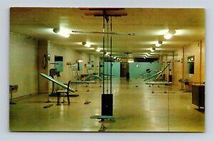 Postcard TN Knoxville Tennessee American Health Studio Gym Interior Vintage X22