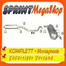 Auspuff Opel Signum 2.0 2.2 DTi 74 92 KW 2003-2004 Auspuffanlage  0256