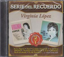 CD - Virginia Lopez NEW Serie Del Recuerdo 24 Tracks - FAST SHIPPING !