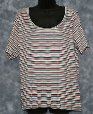 NEW M&S SHORT SLEEVE COTTON TOP SIZE 24