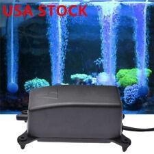 2W AC220V Ultra-Silent Aquarium Air Pump Fish Tank Increasing Oxygen Pump NEW