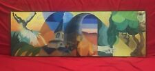 Peinture hst surréalisme signé daté 1965