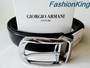 Authentic Giorgio Armani Leather Belt...Italy...top quality...new styles