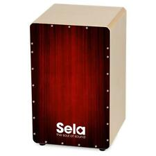 B-WARE Sela Varios Cajon Red Snare System Percussion Trommel Clap Corners