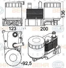 BEHR HELLA SERVICE Oil Cooler engine oil 8MO376797-071