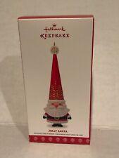 Hallmark Keepsake 2017 Jolly Santa Christmas Tree Ornament NIB
